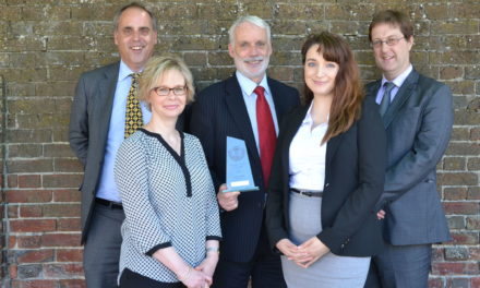 Churchers named Small Firm of the Year at Hampshire Law Society Awards