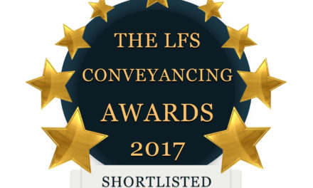 The LFS Conveyancing Awards 2017 – Shortlist Announced
