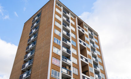 Experts begin removing combustible cladding from UK high rise blocks