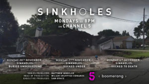 Sinkholes - Channel 5 8pm