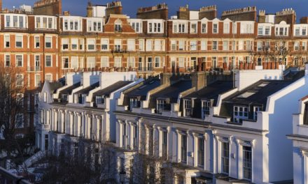 Average house prices fall in London year on year for first time since 2009