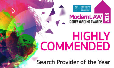 Searches UK recognised at the Modern Law Conveyancing awards