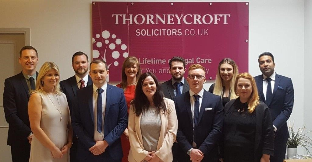 Thorneycroft Solicitors Conveyancing Team invest in long term development