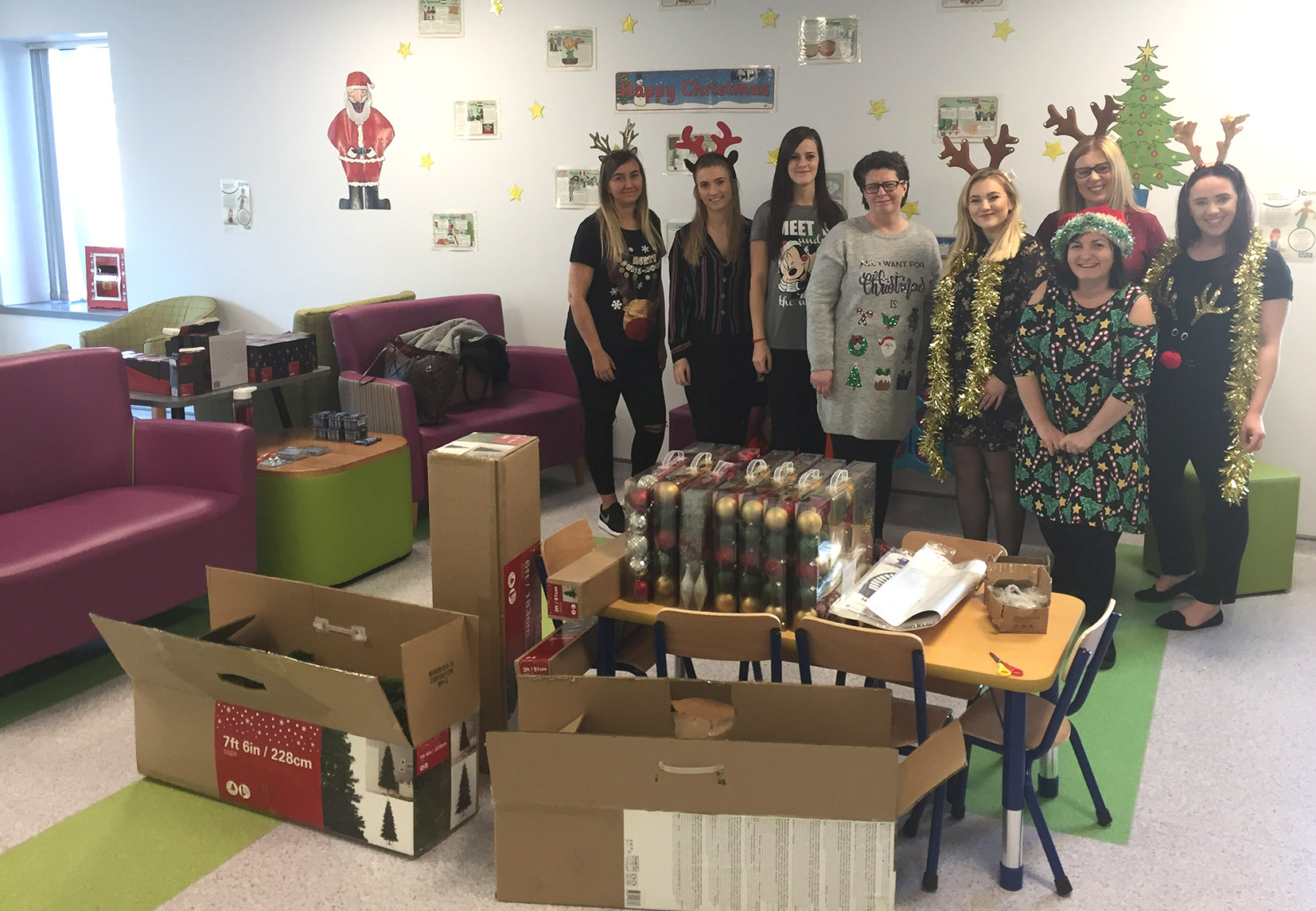 Talbots Law delivers a £50,000 festive treat for Birmingham Children's Hospital