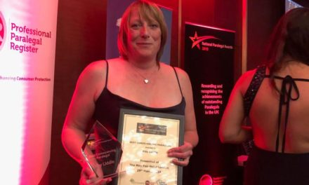 Top conveyancing paralegal award win by PM Property Lawyers