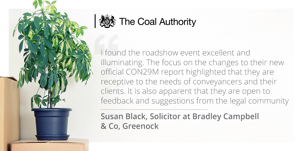 The Coal Authority has started a new series of free CPD events!