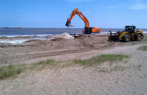 £7m beach nourishment scheme to protect thousands of homes in Lincolnshire
