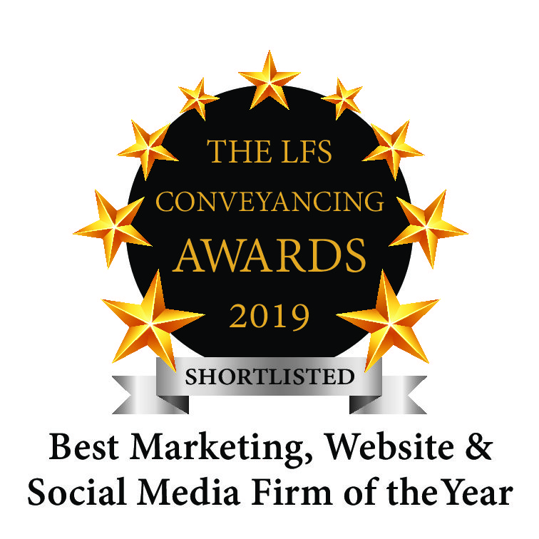 LFS Conveyancing Awards – Shortlist for Best Website, Marketing & Social Media Firm