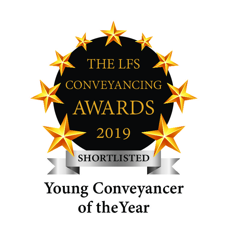 LFS Conveyancing Awards – Shortlist for Young Conveyancer of the Year 2019
