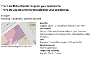 First anniversary of the digital Local Land Charges Register