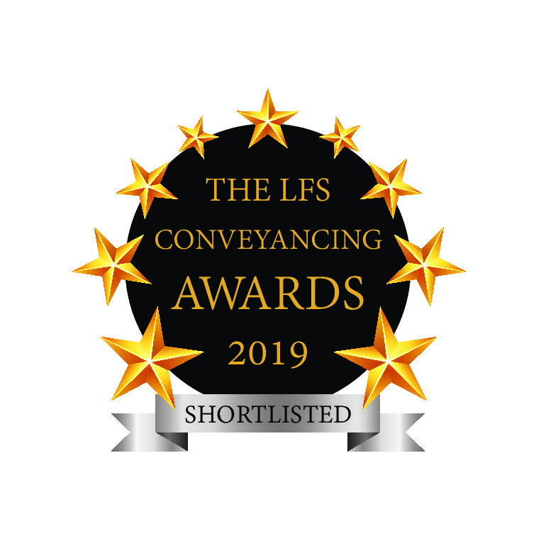 LFS Conveyancing Awards – Shortlist for Customer Service Award 2019
