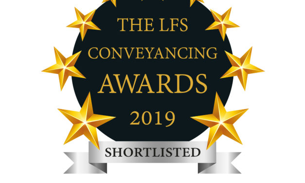 LFS Conveyancing Awards – Shortlist for Regional Conveyancing Firm of the Year 2019 – South & South West and London & South East