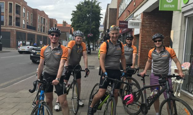 Hart Brown's 100 Miles for 100 Years