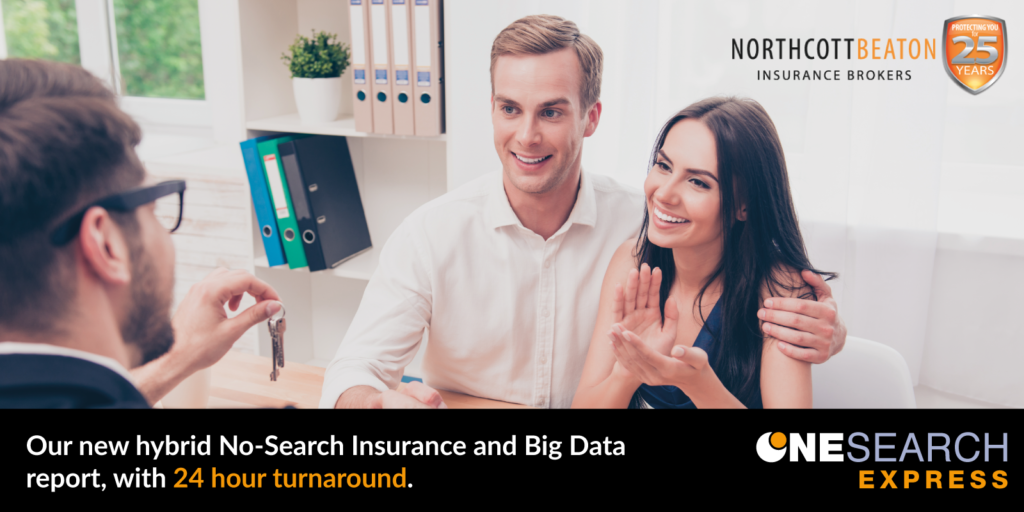 OneSearch Direct Launch Hybrid No-Search Insurance and Big Data Report with 24-Hour Turnaround