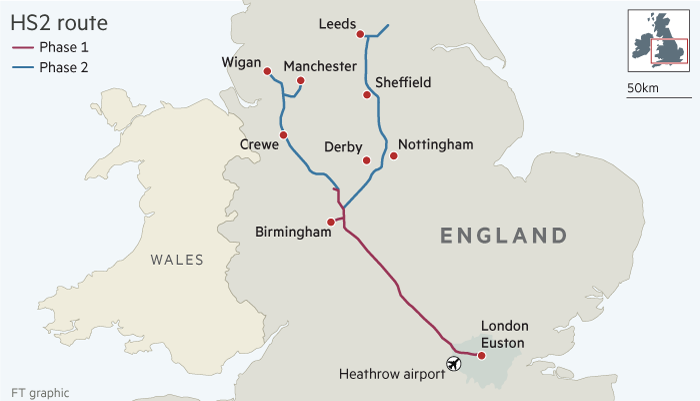 High Speed 2 railway (HS2) – what is the future of the scheme?