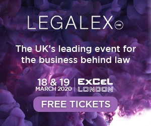 LegalEx makes its return to ExCel London hosting the latest 2020 event