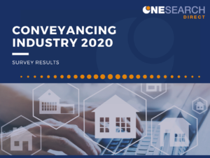 OneSearch Survey Reveals Data Accuracy and Speed Trump Cost for Conveyancing Searches