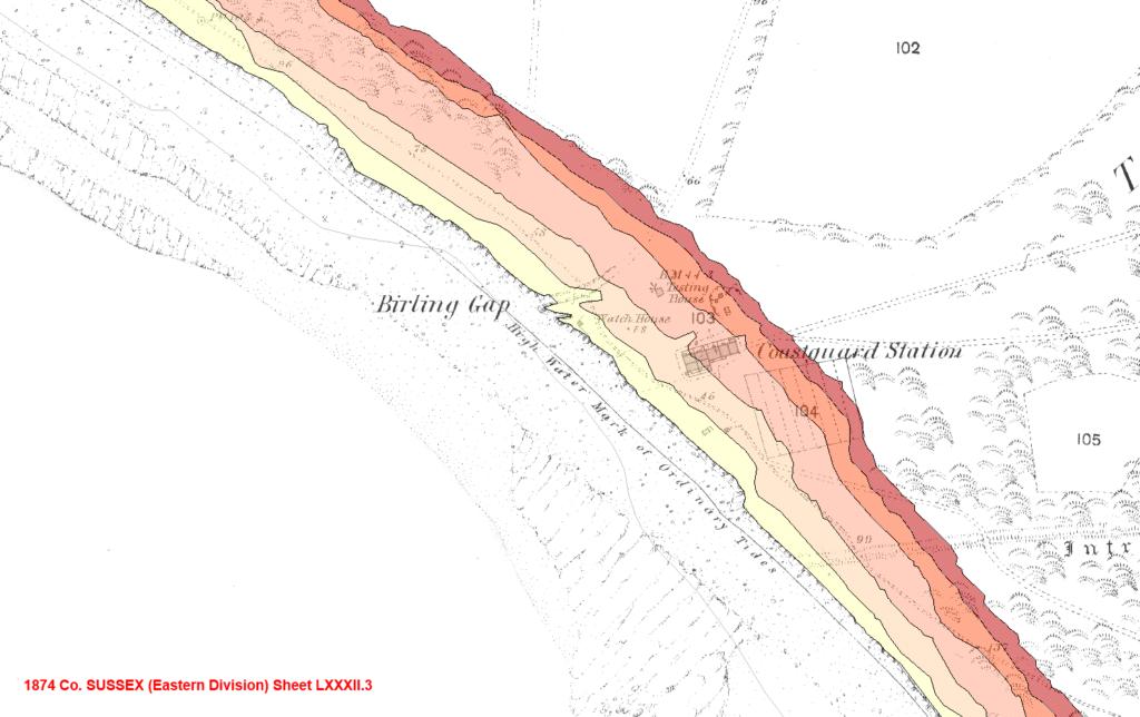Groundsure blog: Coastal erosion and retreat at Birling Gap